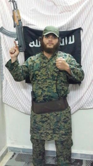 Notorious Australia jihadists such as Khaled Sharrouf (pictured) are known to have been in the local provincial capital ...