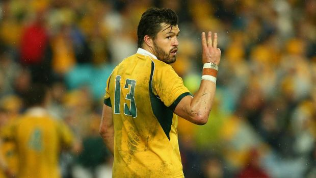 Au revoir: Adam Ashley-Cooper will continue his career in France after the World Cup.