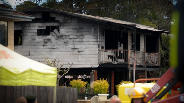 A desk lamp could have caused the Slacks Creek house fire that killed 11 people.