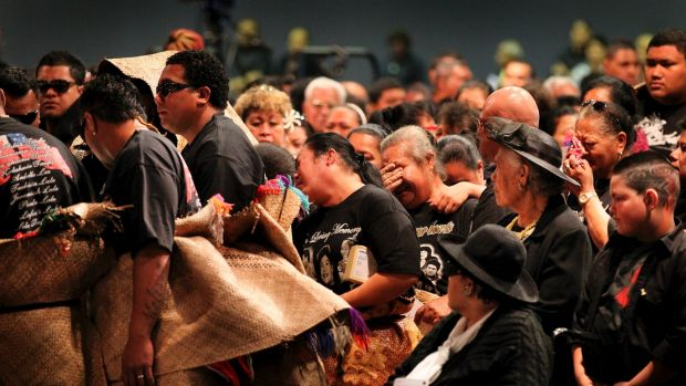 Funeral for victims of the Slacks Creek house fire.