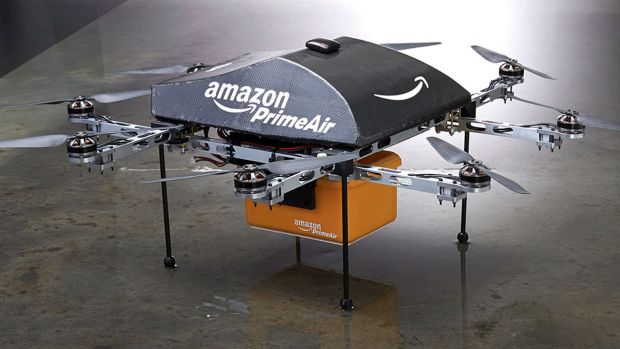 "Good intentions: Amazon hopes to use its ""PrimeAir"" drones to deliver packages."
