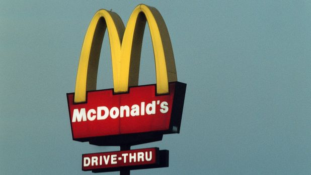 A calorie count is displayed for about seven seconds on McDonald's new menus.