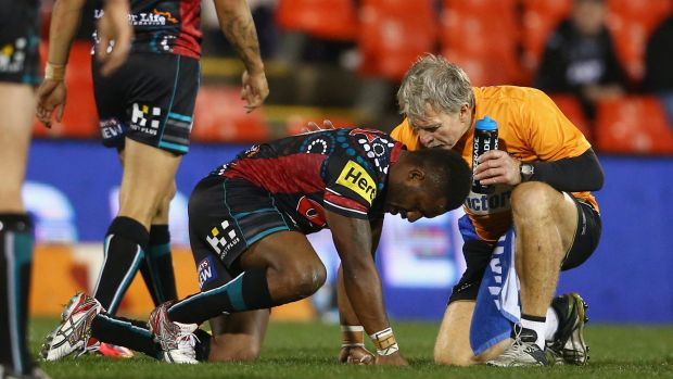 Not so bad: Panthers hooker James Segeyaro's ankle injury is not as bad as initially feared.