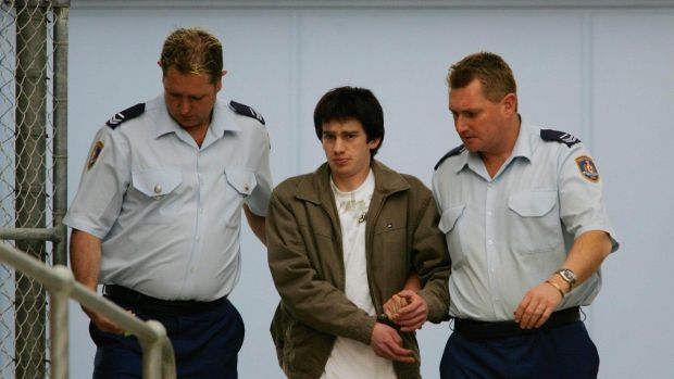 Maps showing Sydney and Newcastle targets were reportedly found at the Pullenvale home of Daniel Fing (pictured).