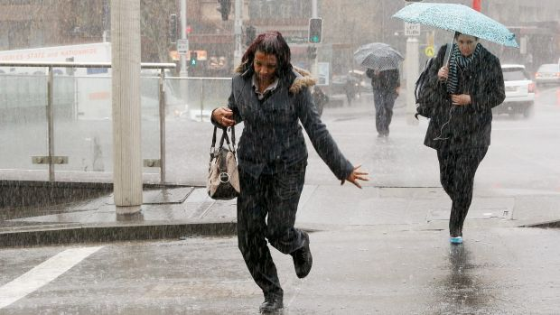 Running out of winter: Sydney can expect drier days from here on.