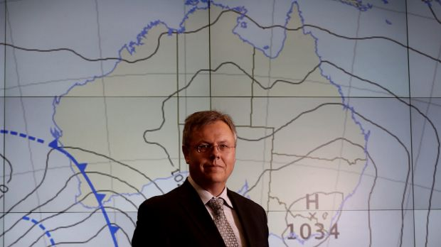 Bureau of Meteorology CEO Dr Rob Vertessy.