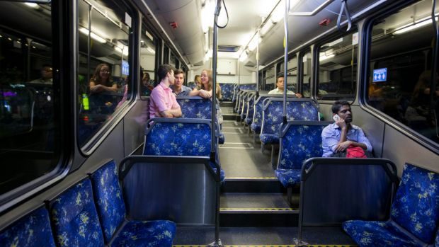 The Government's late-night bus services from Kings Cross to the city have been a flop.
