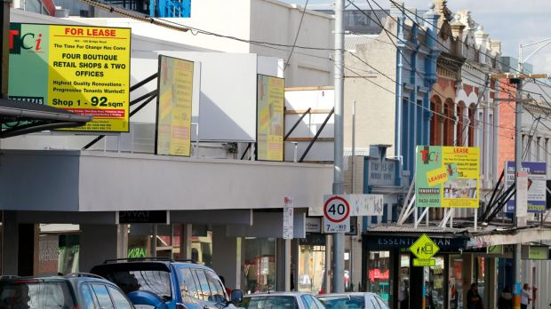 Bridge Road in Richmond this month recorded its highest vacancy level in 10 years.