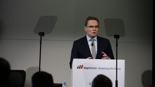 """There is a lot for the market to currently digest,"": BHP chief Andrew Mackenzie."