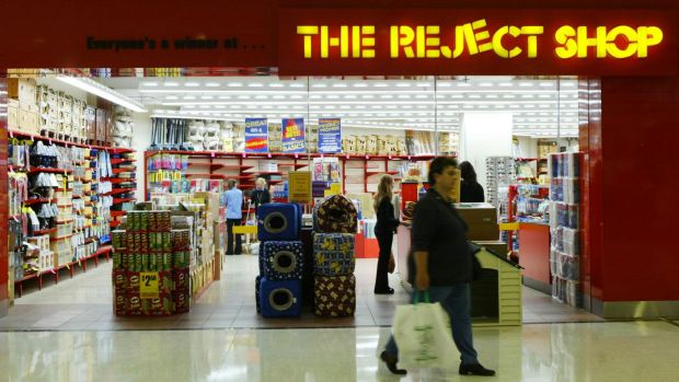 The Reject Shop's share price is down 40 per cent in three days.