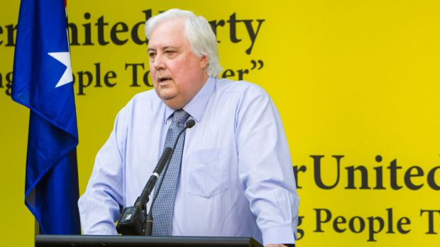 Clive Palmer said he flew to Perth for a drink with Dio Wang.