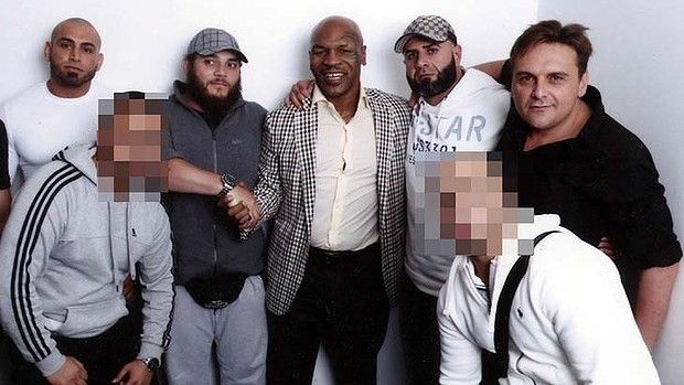 Strange bedfellows: (From left) Islamic extremist Khaled Sharrouf, Bilal Fatrouni and Sydney businessman and crime ...