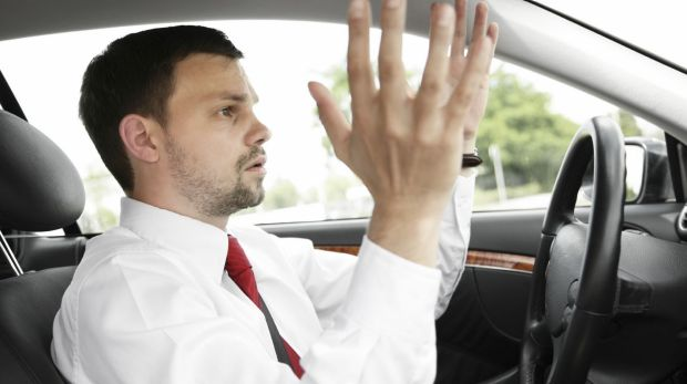Road rage is a likely symptom of this modern disease.