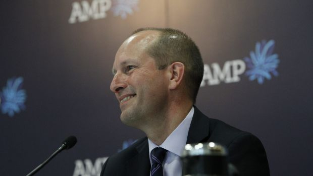 AMP chief executive Craig Meller.