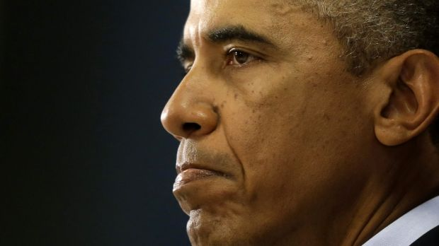 Fallen from Olympus: US President Barack Obama's isolation is turning his country and his own party against him.