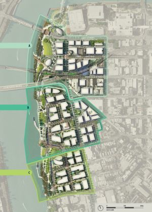 The highlighted section is the primary area to be renovated.