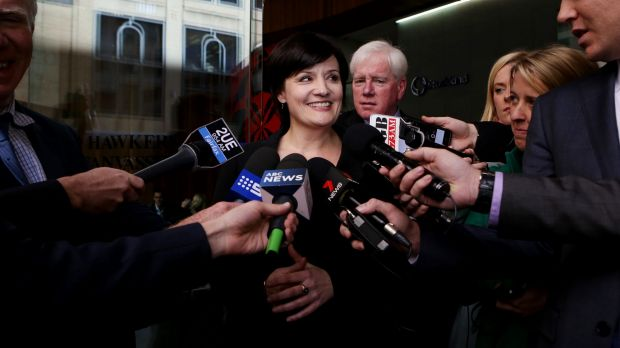Targeted by smear campaign: Former Labor minister Jodi McKay.
