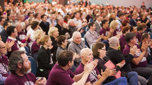 Delegates to the Queensland Labor State Conference in Brisbane.