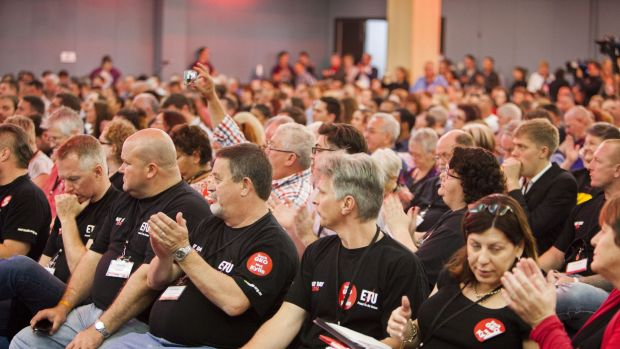 Members of the Australian Labor Party attend the Qld the Labor State Conference.