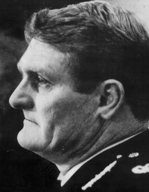 Federal Police Commissioner Colin Winchester was shot outside his home in 1989.