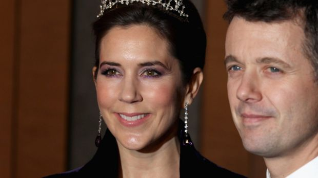 Too boring: Crown Princess Mary of Dennark with husband Crown Prince Frederik.