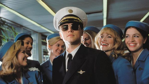 Leonardo DiCaprio starred as Abagnale in the film <i>Catch Me if You Can</i>.