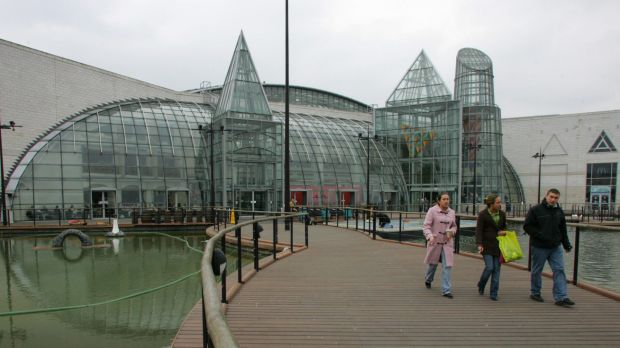 The sale of the UK shopping centre accounted for a large part of Lend Lease's bottom line.