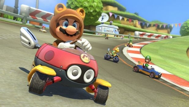 Tanooki Mario will also make an appearance, as well as Cat Peach, Dry Bowser and Animal Crossing characters.
