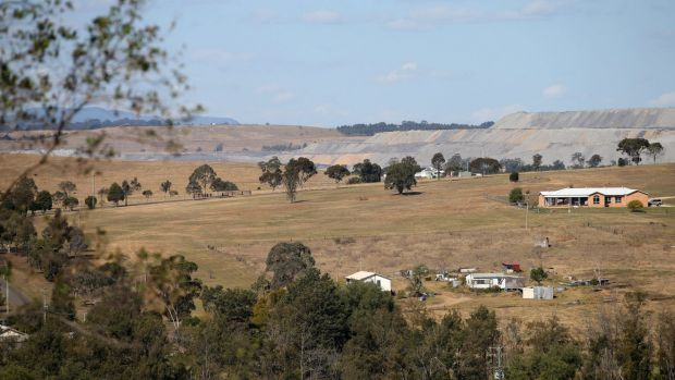 Yancoal's Ashton coal mine near Camberwell in the Hunter Valley.