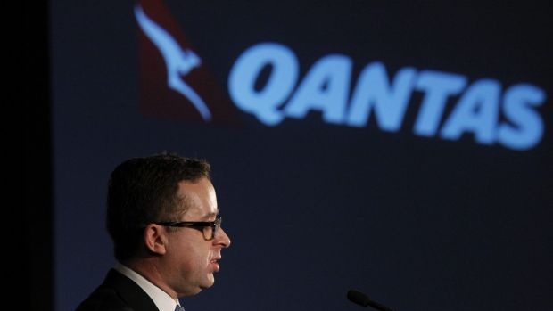 Qantas chief Alan Joyce has taken a hefty pay cut.