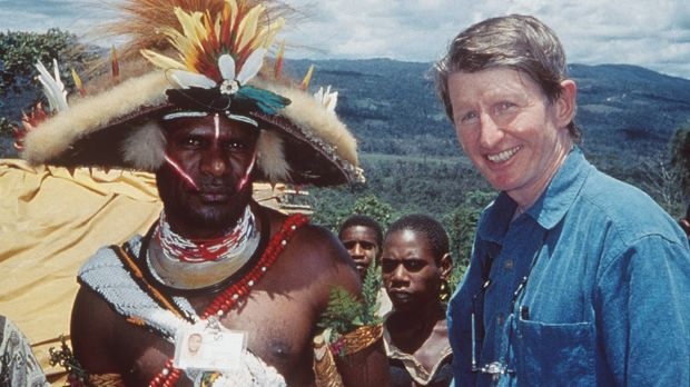 Influence from within: Sean Dorney reporting from PNG in 2000.