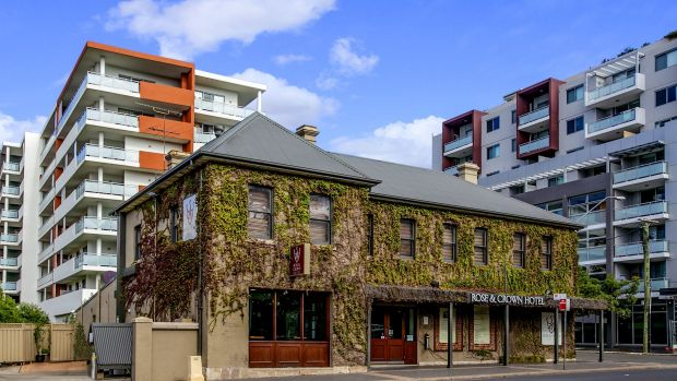 New management: The Rose & Crown, on Victoria Road in the heart of the rapidly developing northern precinct of the ...