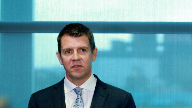 NSW Premier Mike Baird is looking at a cap on political donations for the 2015 election.
