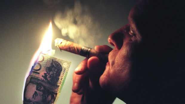 Money to burn: Most of us would have a more visceral reaction to the desecration of currency than we would to the ...