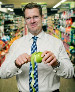 'Not a participant': Woolworths chief Grant O'Brien.