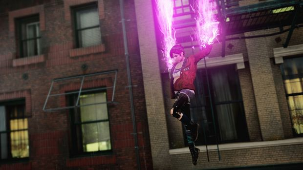 Fetch's neon powers are as fun and spectacular as ever.