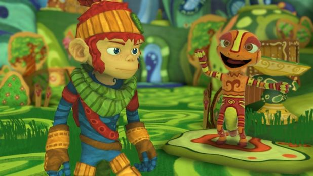 Monkey / hipster protagonist Kopu leads a colourful cast in <i>The Last Tinker.</i>