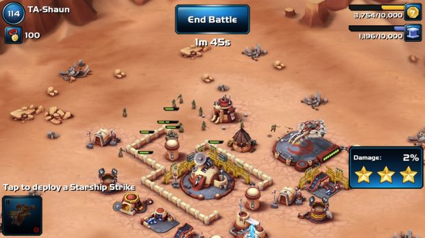 Clash of sands: channel your inner Jawa in <i>Star Wars: Commander</i>.