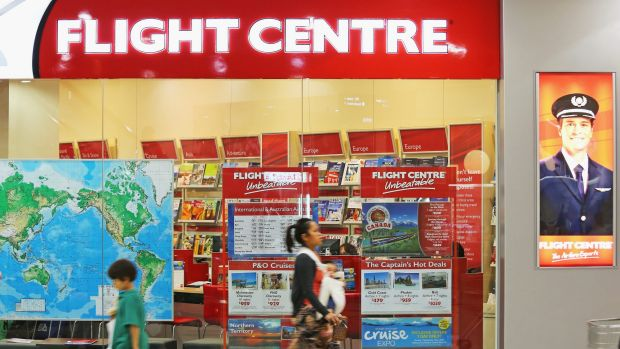 Flight Centre's deal with the Queensland Government is the first of its kind in Australia.