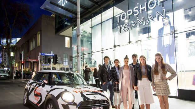 A Topshop pit stop: The clothing retailer forged an allegiance with the chauffering app Uber and Mini Cooper to get ...