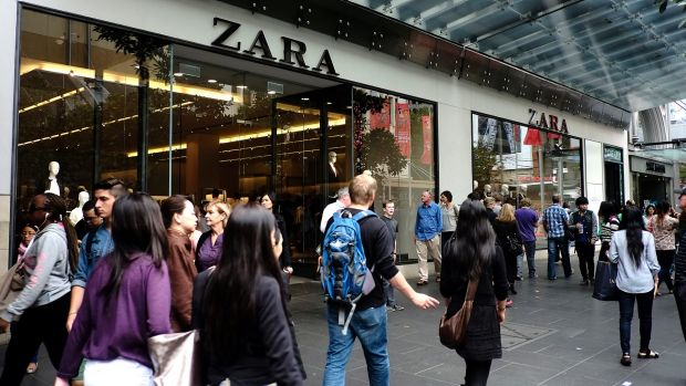 Zara's Brisbane store is expected to take up four floors in the Queen Street Mall.