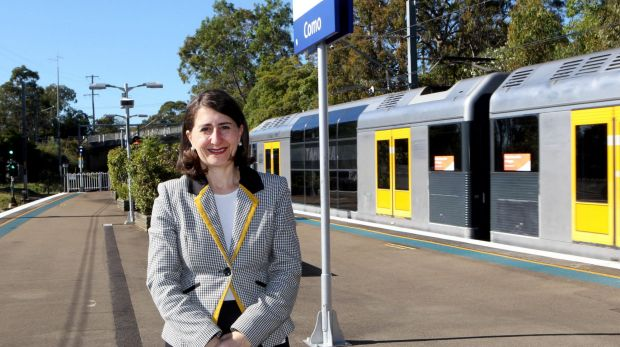 """I am asking customers to allow a little extra time and be patient on their morning commute"": Gladys Berejiklian."