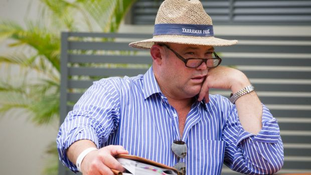 Formally charged: Peter Moody.