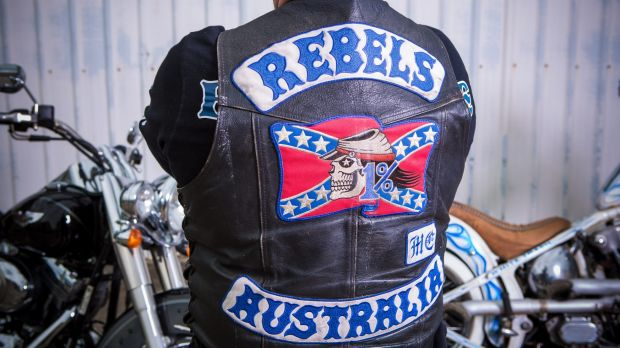 How was the anti-bikie strategy in Queensland framed, and what has it achieved so far?