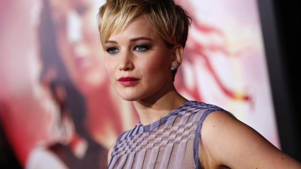 Jennifer Lawrence: The actress had stolen nude photos posted on the internet.