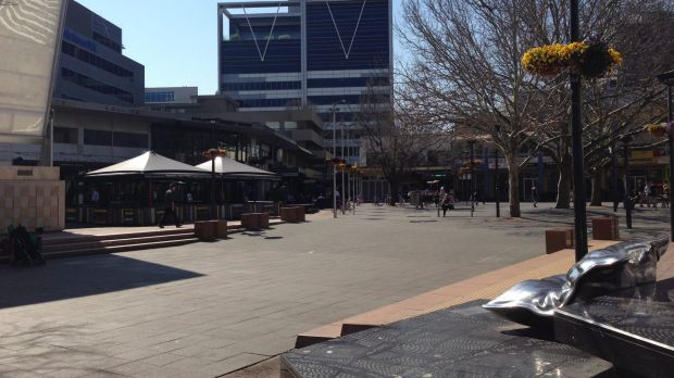 The heart of the city, including Garema Place,  is not as good as it could be, Alistair Coe says.