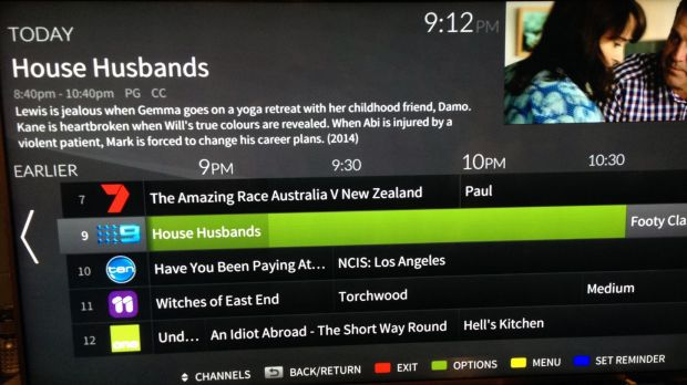 The FreeviewPlus onscreen EPG looks great, if you can see it.