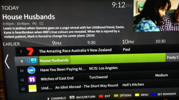The FreeviewPlus onscreen EPG looks great, but it only works on a handful of devices.