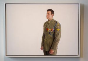 Artist Michael Zavros's second portrait of Ben Roberts-Smith VC, MG.