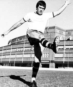 """""""Bomber"""": John Peard was a key member of the Jack Gibson-coached Roosters teams in 1974 and 1975."""